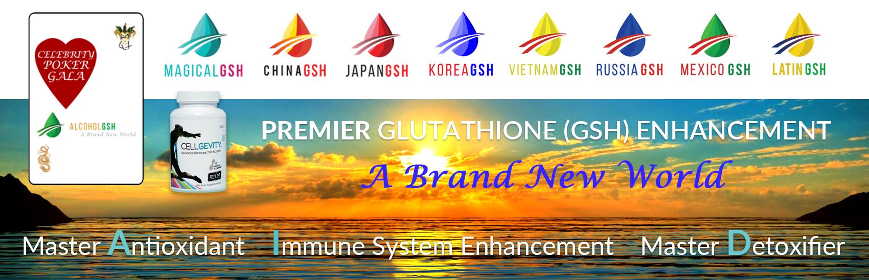Master Antioxidant, Immune System, Master Detoxifier